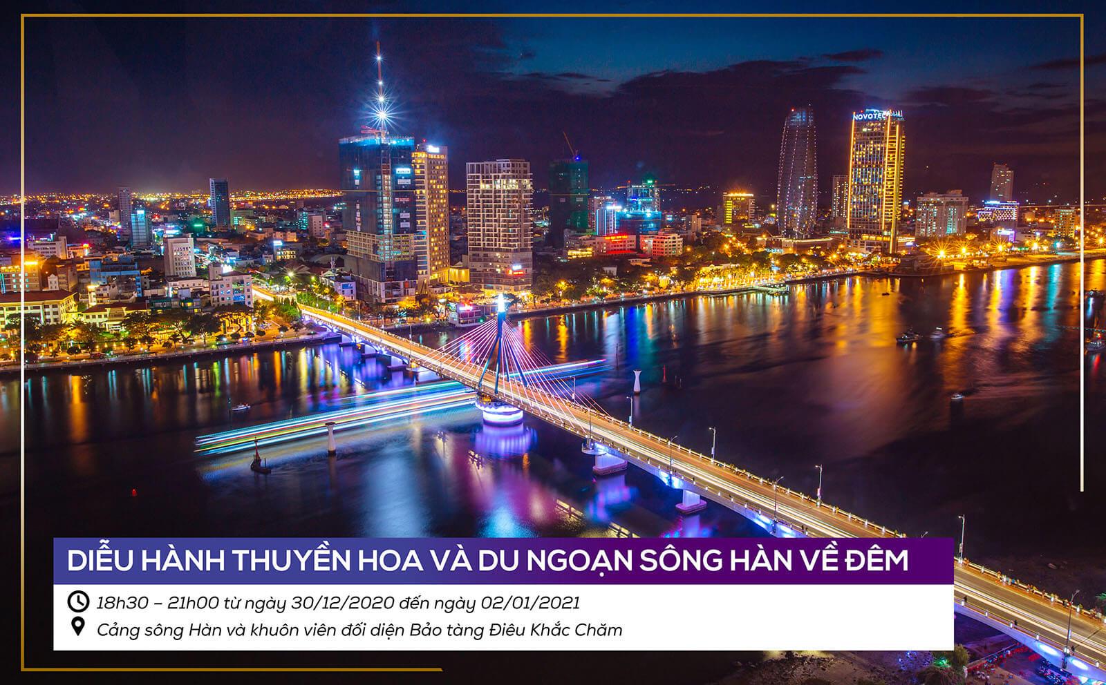 Le Hoi Da Nang Chao Nam Moi 2021 Du Ngoan Song Han